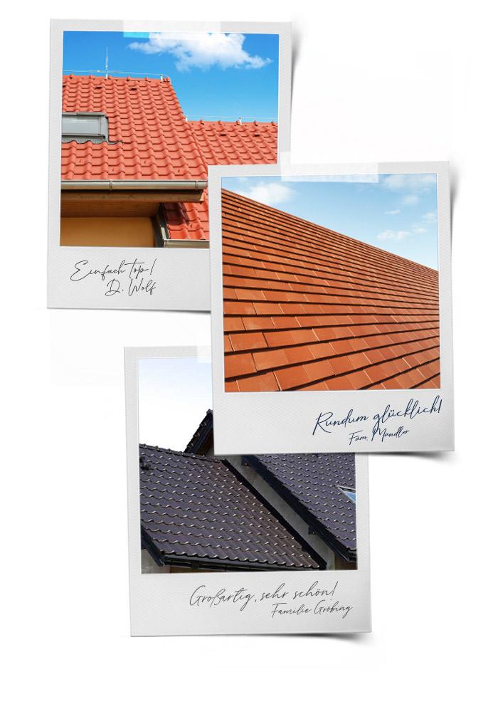 Dach, Fassade, Beschichtung